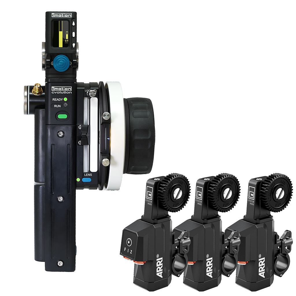cvolution Alexa mini Starter Kit advanced 3-Motor